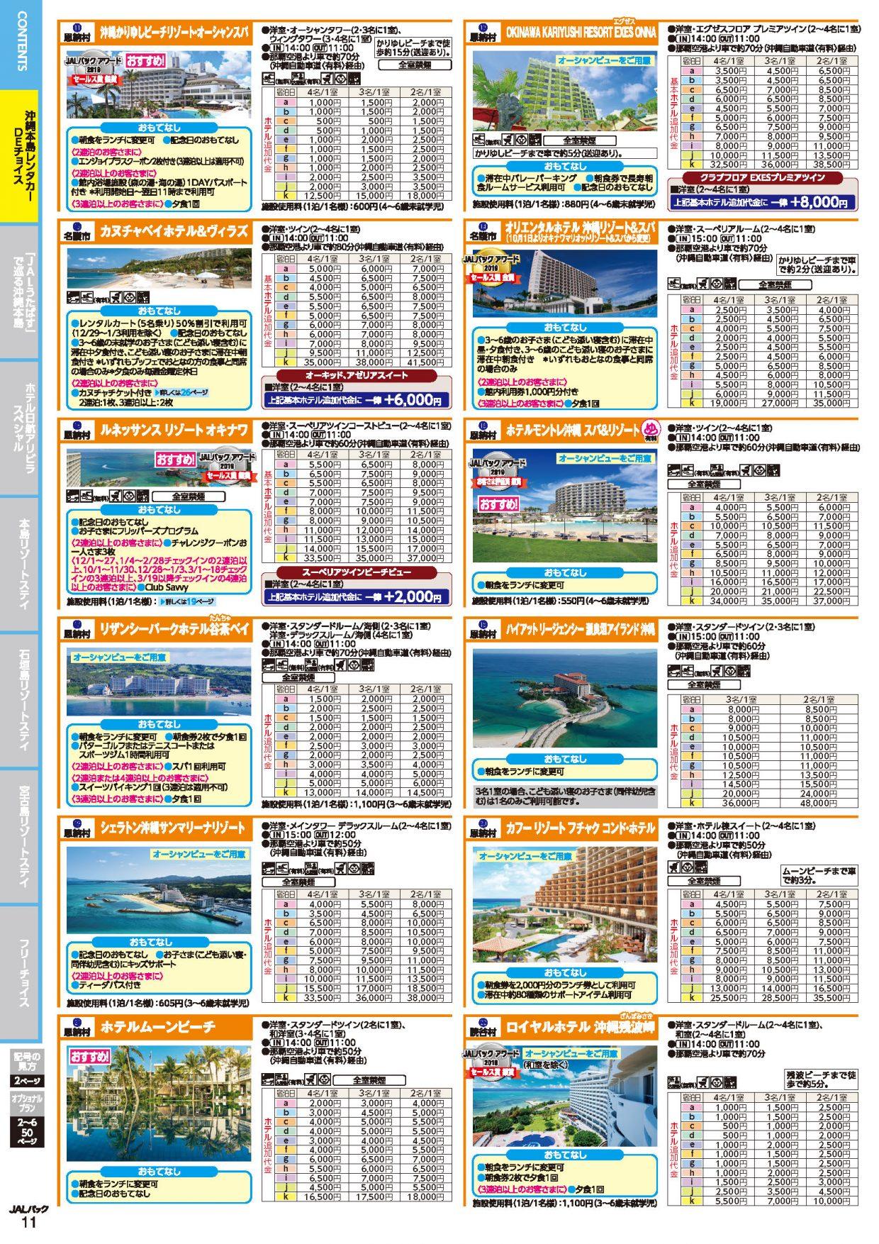 JALで行く沖縄パンフ5